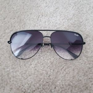 Quay 'High Key' 62mm Aviators
